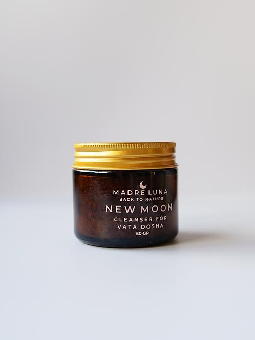 NEW MOON limpiador facial piel seca