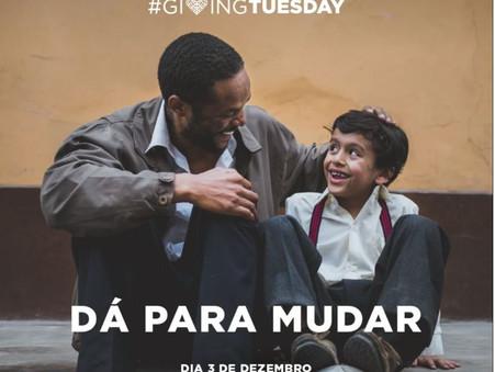 #GivingTuesday, vamos ampliar a solidariedade e celebrar a doação
