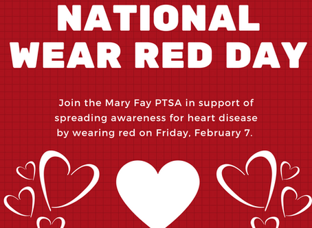 Wear Red Day is Feb. 7