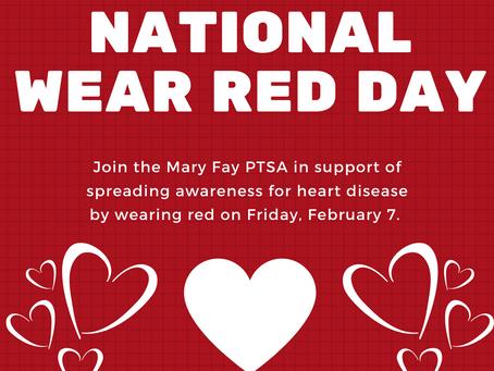 Wear Red Day is Feb. 7