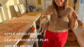 Style Development, Leaving Room for Play & Balancing Painting and Illustration   Lindsay Stripling