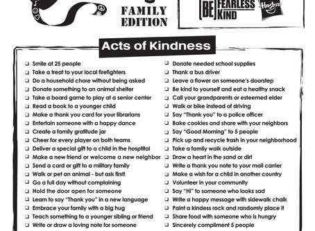 Kindness Week is Jan 27-31!