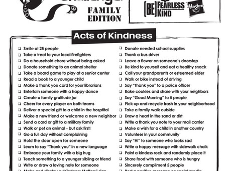 Kindness Week is Jan 27-31!