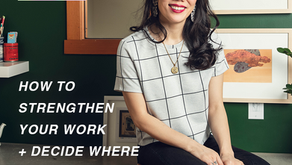 How to Strengthen Your Work + Decide Where to Sell It   Artist Consultant, Pennylane Shen
