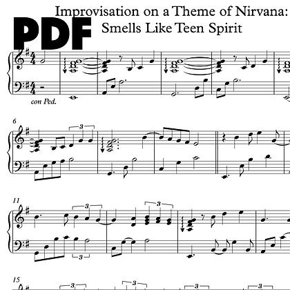 Improvisation on a Theme of Nirvana: Smells Like Teen Spirit