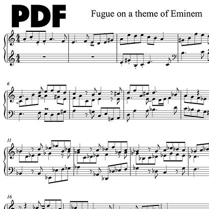 Fugue on a Theme of Eminem