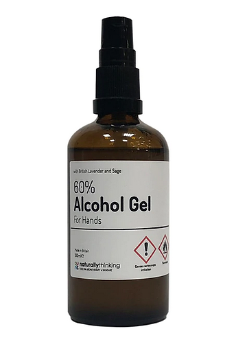 Hand Sanitizer Gel:  100mls