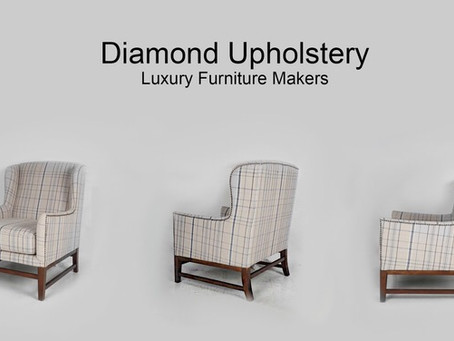 Wing chairs made to order