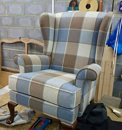 A Parker Knoll Penhurst wing chair, we u