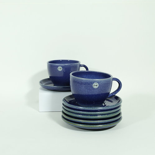 Koffietas - blauw