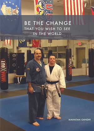 BE THE CHANGE card