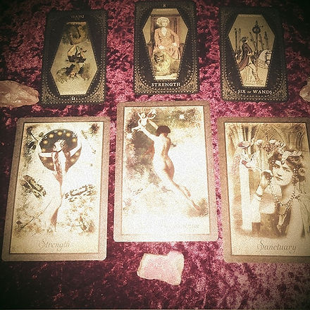 Tarot reading events CaliOkie Hoodoo