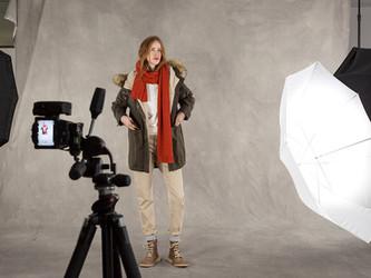 Video- und Fotoshooting für Kollektionsvorstellung