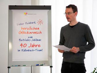40 Jahre Betriebszugehörigkeit bei kallenbach.medien
