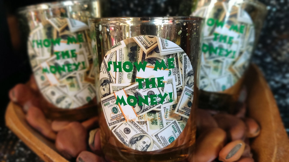 Show Me the Money Candle