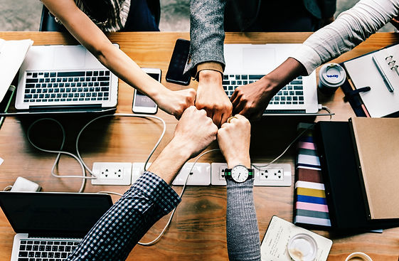 Teamwork is effective in implementing creative business strategies for your brand. Allow epm|prg HR Consultiing to guide you.
