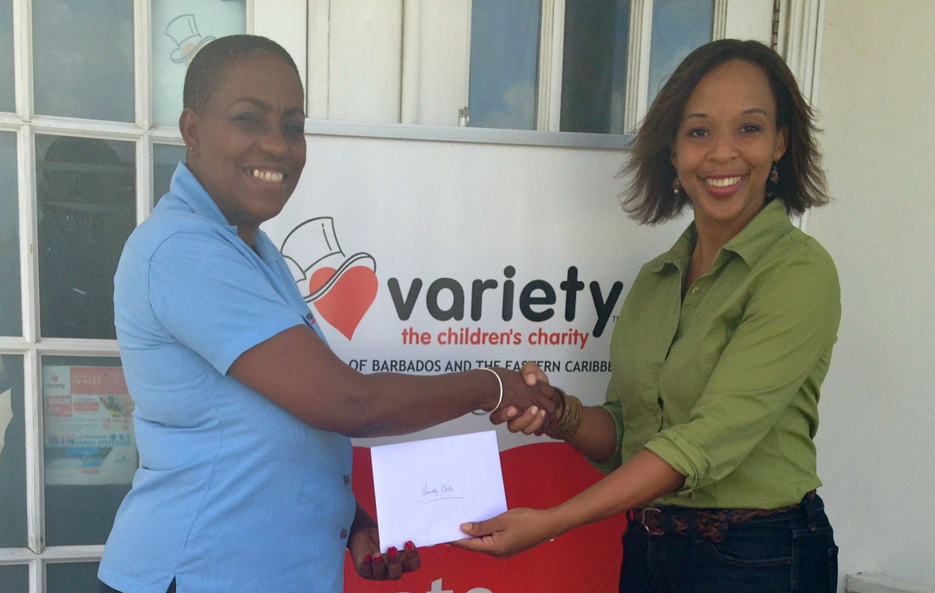 H4H 2014 donation to VCC