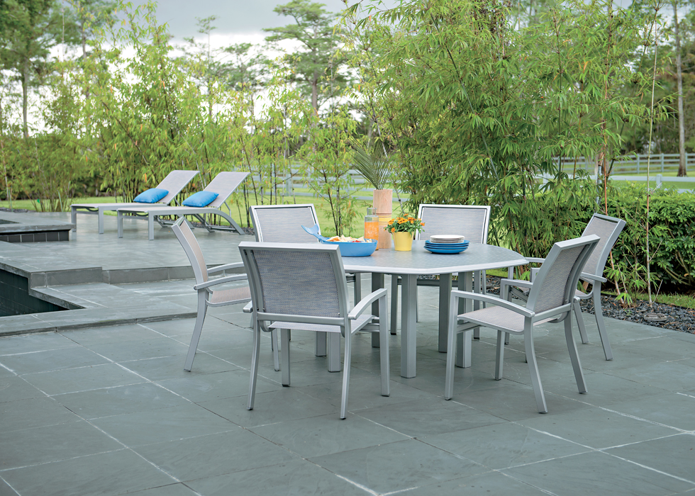 Telescope Casual Kendall Collection Outdoor Dining