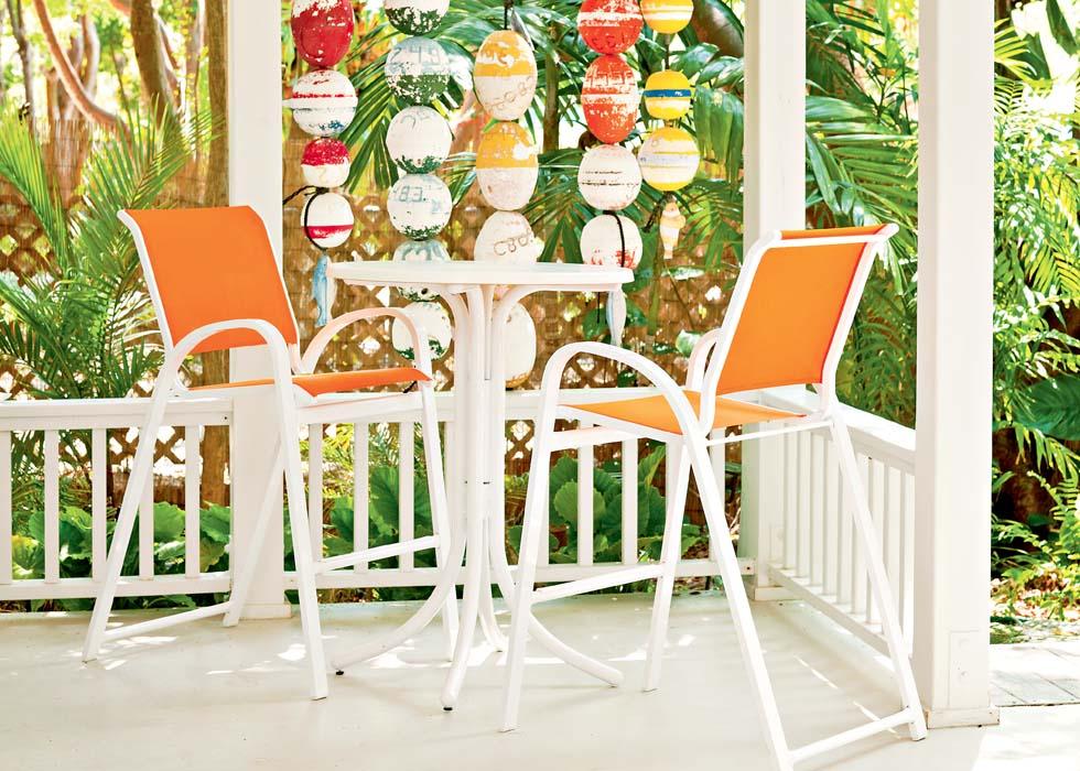 Telescope Casual Aruba Collection Outdoor Casual Dining Set