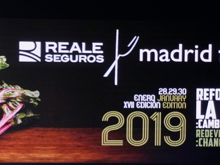 Madrid Fusion 2019 Day 1