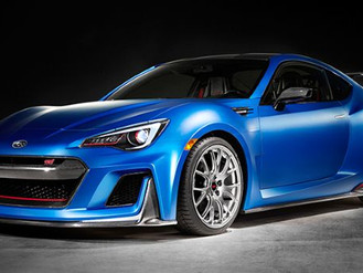 This is Subaru's 450bhp BRZ STI