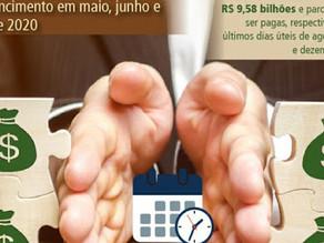Ministério da Economia prorroga os prazos das prestações dos parcelamentos tributários.