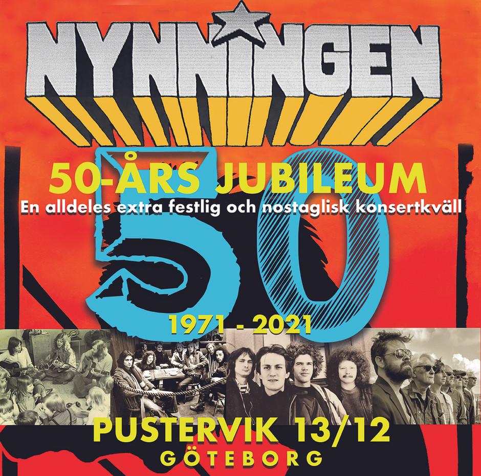 50 års jubileumskonsert på Pustervik!