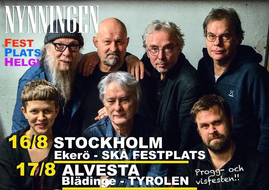 Fest Plats Helg! Skå Festplats, Ekerö, Stockholm och Tyrolen, Blädinge, Alvesta! 16-17 aug!