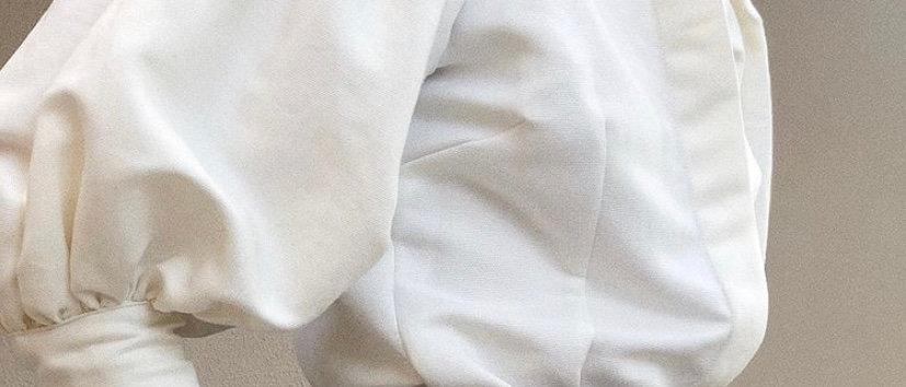 CAMISA VITORIANA OFF WHITE