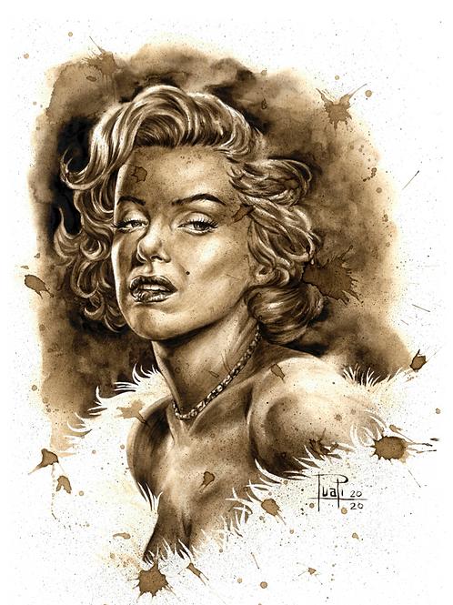 104. Coffee Art Print