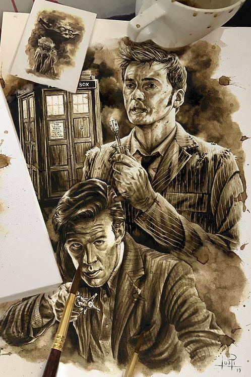 Doctor Who - Coffee Art