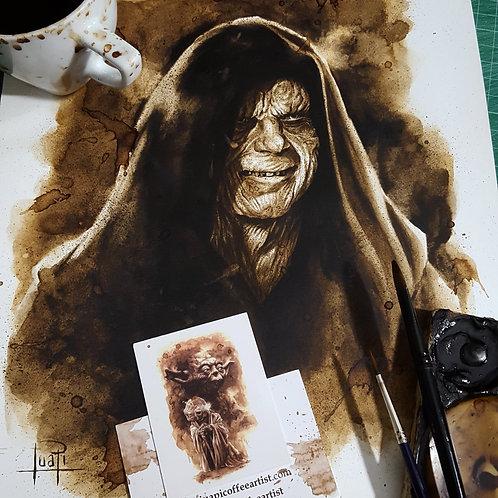 Darth Sidious - Original Coffee Art