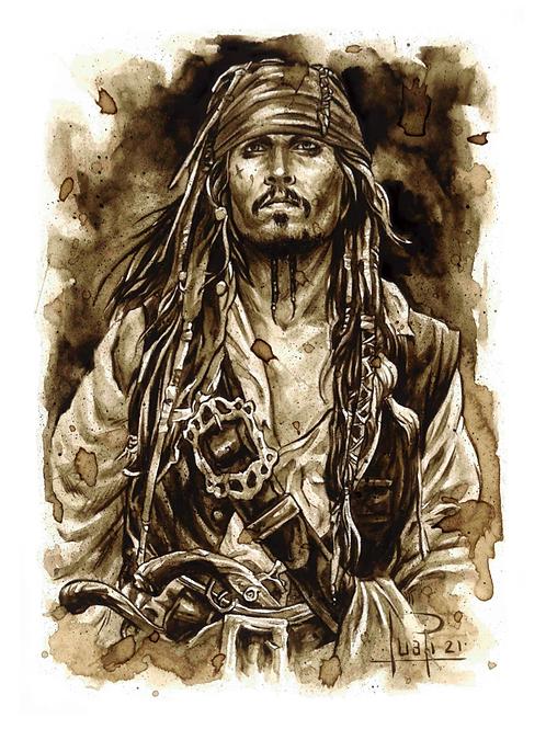 02. Coffee Art Print