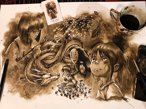 35. Coffee Art Print