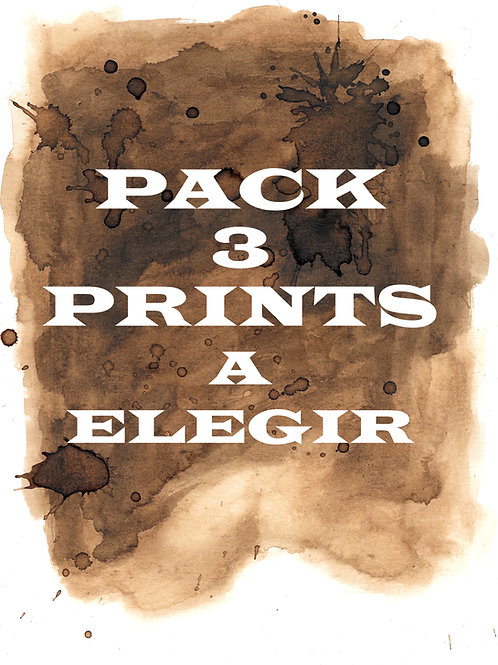 Pack 3 Prints a elegir /Pack 3 Prints to choose