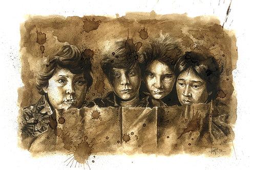 08. Coffee Art Print