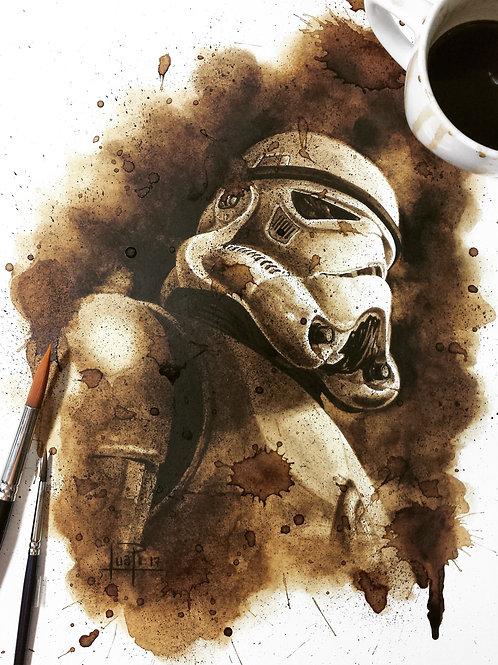 86. Coffee Art Print
