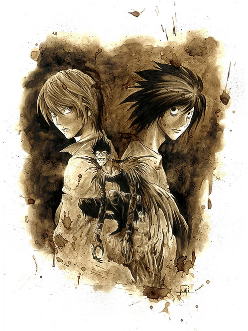 Death Note-Coffee Art