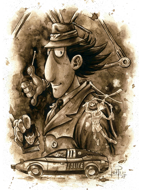 44. Coffee Art Print