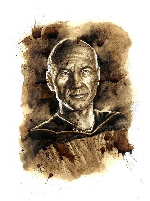 Jean-Luc Picard-Coffee art