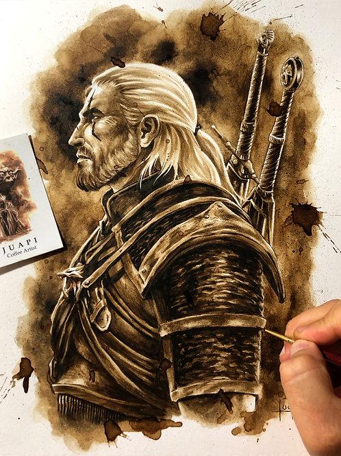 Geralt de Rivia-Coffee Art
