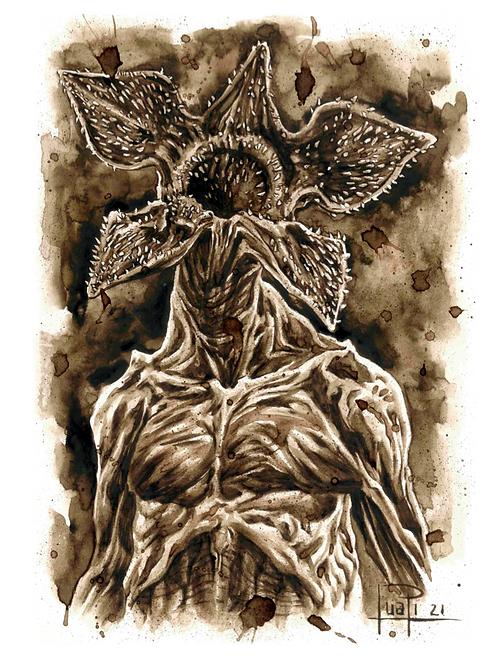 95. Coffee Art Print