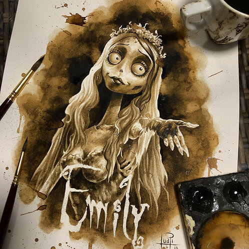 Emily cadaver-Coffee Art