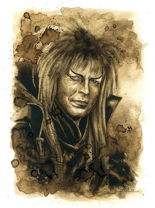 Jareth The Goblin King-Coffee art