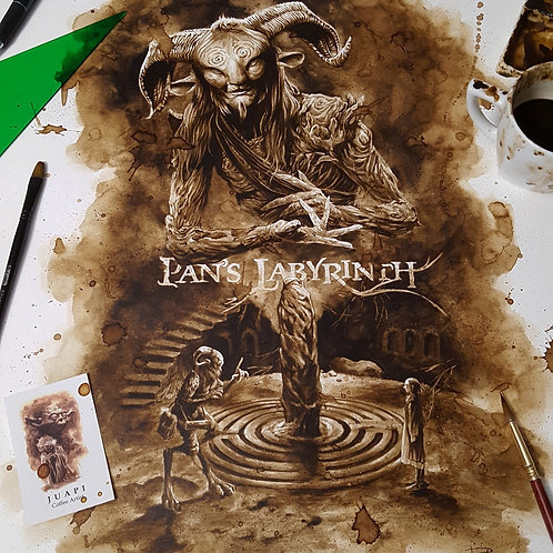 Pan´s Labyrinth - Original Coffee Art