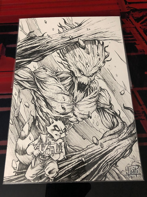 Rocket & Groot - Ink