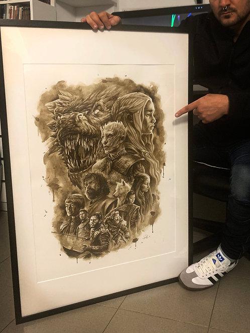 Game of Thrones (Edición Especial 70x50cm)-Coffee Art