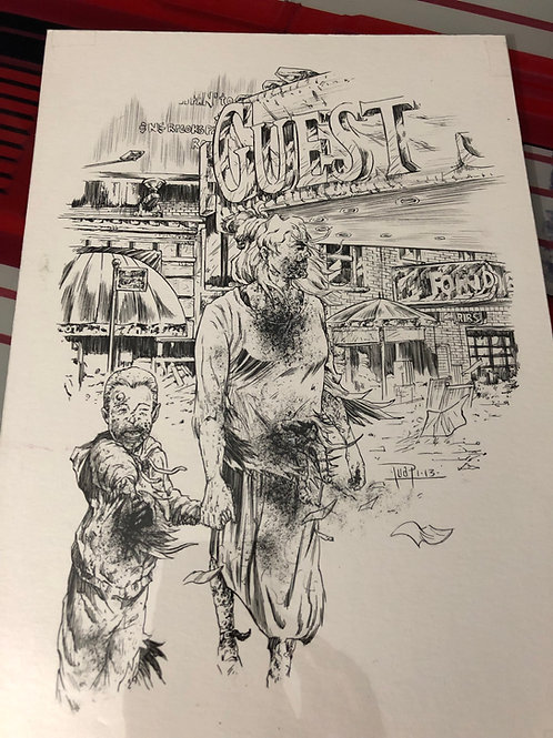 Zombies - Ink