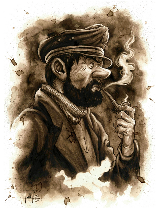 45. Coffee Art Print