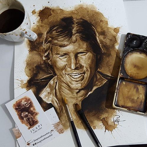 Han Solo - Original Coffee Art